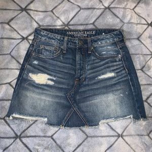 Dresses & Skirts - American Eagle jean skirt